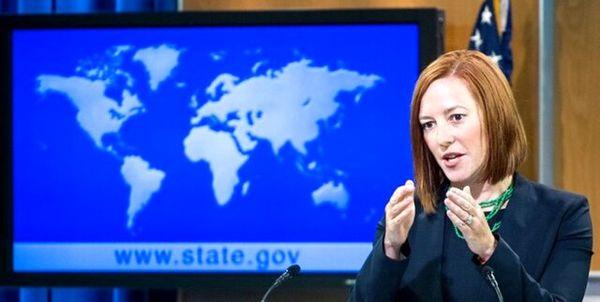 کاخ سفید: توپ در زمین ایران است