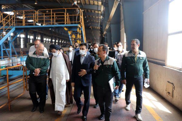 کارخانجات نورد و لوله صفا یک ایران کوچک است