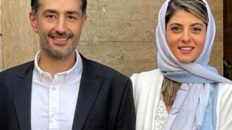 مائده طهماسبی و همسرش