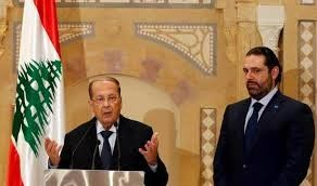 دیدار رئیسجمهوری لبنان و سعد حریری