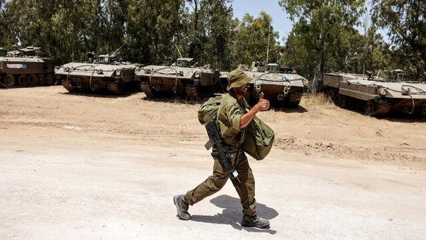اسرائیل به مرز غزه تجهیزات نظامی فرستاد