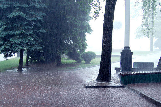 بارش باران در تهران و ۱۶ استان دیگر
