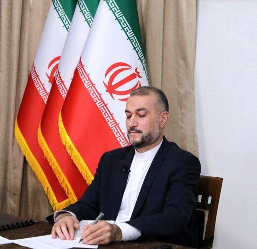 تبریک امیرعبداللهیان به تیم ملی کشتی ایران
