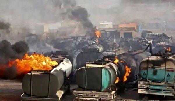 تشکر وزیرخارجه افغانستان از کمک ایران برای مهار آتش سوزی هرات