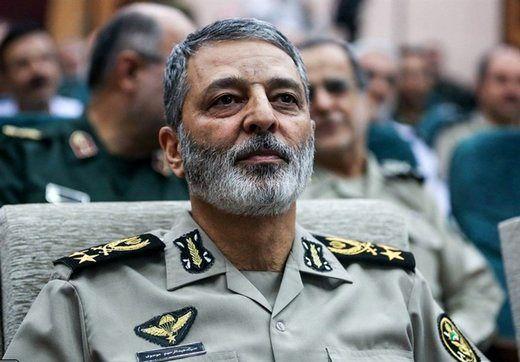 پیام سرلشکر موسوی درپی درگذشت یک فرمانده ارتش
