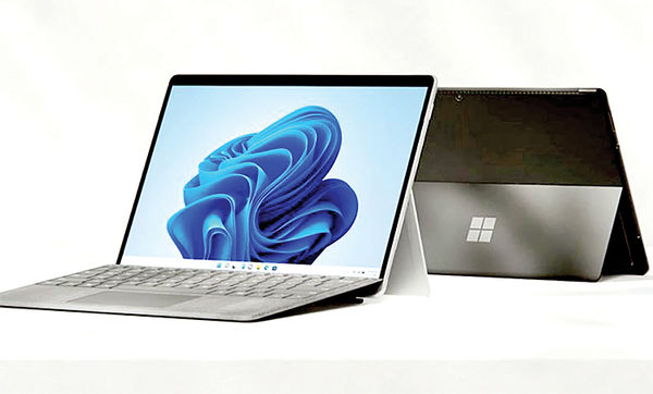 سرفیس پرو ۸ مایکروسافت با نمایشگر ۱۳اینچی معرفی شد