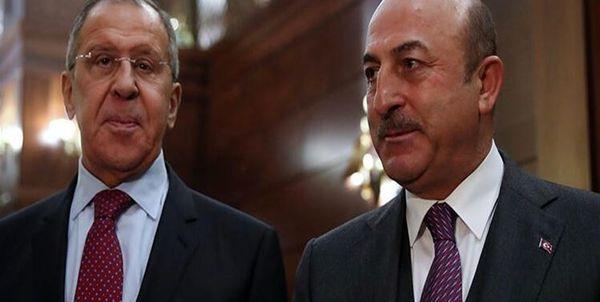تماس وزرای خارجه روسیه و ترکیه پیرامون تحولات قره باغ