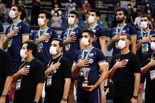 والیبال ایران در رتبه دهم جهان قرار گرفت