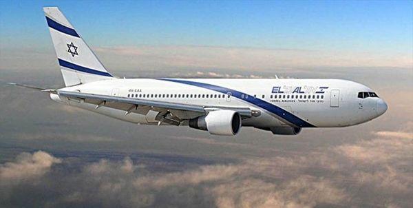 پرواز بیسابقه هواپیمای تجاری از تلآویو به خارطوم