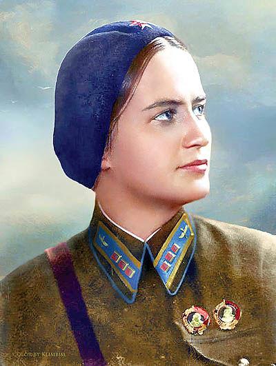 مارینا راسکووا، فرمانده ناوبری هوایی