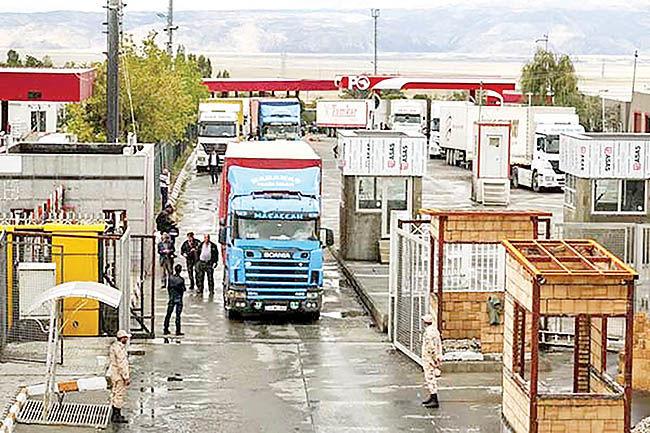 تصویر 7 ماهه تجارت ایران و ترکیه