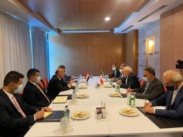 در دیدار ظریف با وزیر خارجه عراق چه گذشت؟
