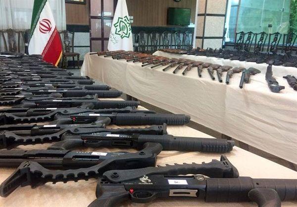 باند توزیع و فروش سلاح های جنگی منهدم شد