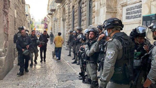 حمله دوباره نظامیان اشغالگر به نمازگزاران فلسطینی