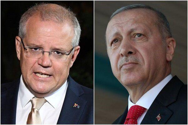 گفتوگوی اردوغان و نخستوزیر استرالیا