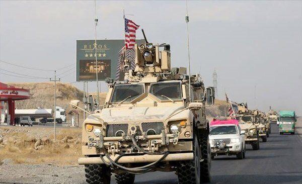 کاروان ائتلاف آمریکایی در عراق هدف حمله راکتی قرار گرفت