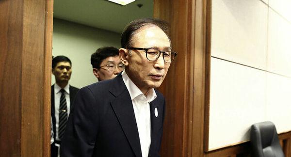 رئیس جمهوری سابق کره جنوبی به زندان منتقل شد
