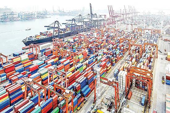 شوک کانتینری به تجارت جهانی