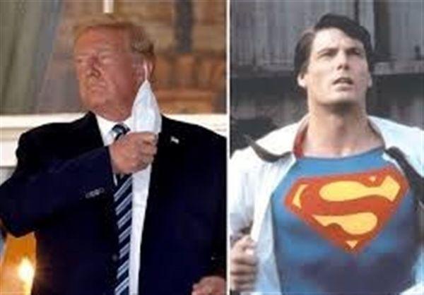 نیویورک تایمز: ترامپ میخواست با لباس«سوپر من»  از بیمارستان ترخیص شود
