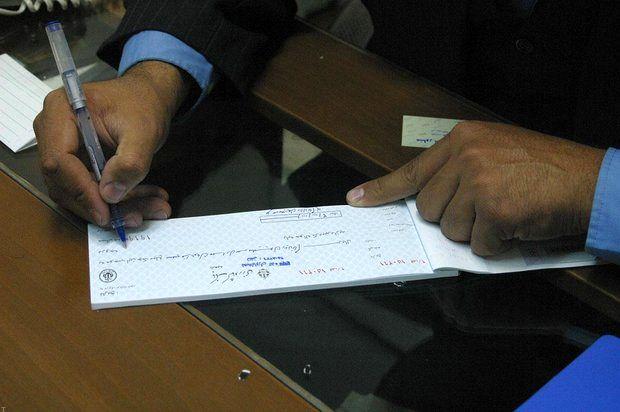 بانک مرکزی آمار چکهای مبادلهشده را به موقع منتشر کرد