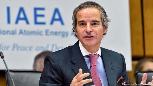 گروسی از برگزاری رایزنیهای فنی با ایران خبر داد