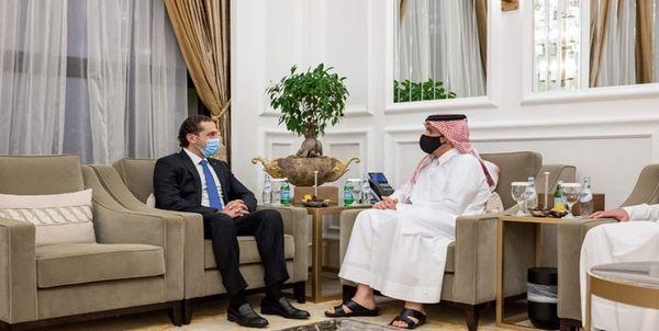 سعد الحریری با وزیرخارجه قطر دیدار کرد