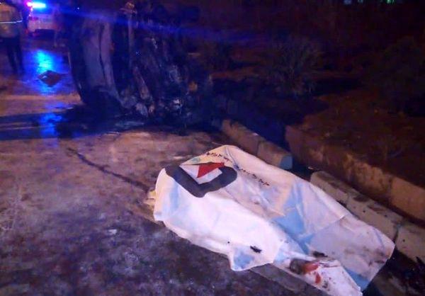 فوت دختر ۱۵ ساله در اثر تصادف با قطار باری