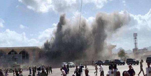انفجار در مرکز عدن