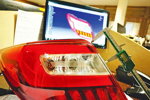 تولید چراغ خودرو با کیفیت مشابه کشور سازنده