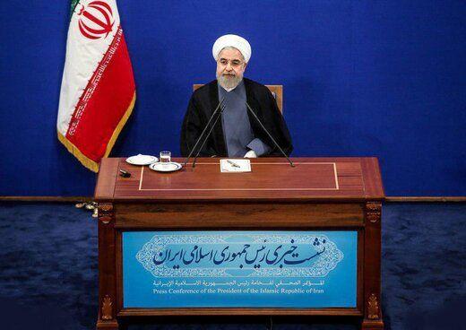 توضیحات روحانی درباره مطلع شدن دولت از سقوط هواپیمای اوکراینی با خطای پدافند هوایی/دولت مسئولیتی در کلیر کردن آسمان ندارد /۷