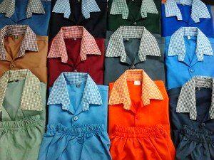 قیمت لباس مدرسه چند؟