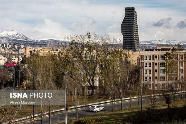 وضعیت هوای پایتخت در اولین روز اسفند