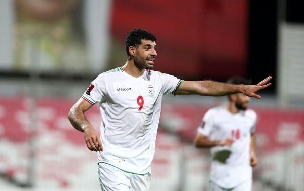 پیروزی پر گل ایران برابر کامبوج در نیمه اول