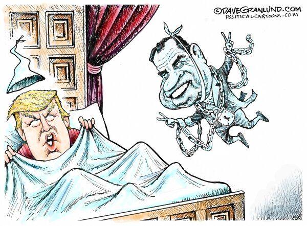 کابوس هر شب ترامپ را ببینید!