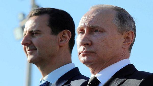 دیدار ویدئو کنفرانسی بشار اسد و پوتین