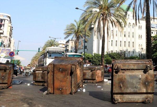 تظاهرات شهروندان لبنانی پس از انصاف حریری از تشکیل کابینه