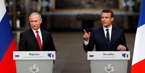 درخواست مکرون و پوتین برای توقف فوری جنگ در قره باغ