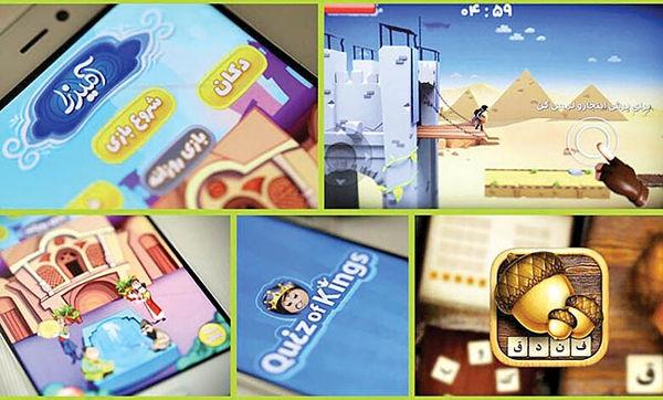 درآمد 9 میلیون دلاری ایران از بازیهای موبایلی