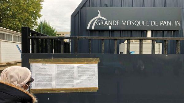 تعطیلی یک مسجد در پاریس