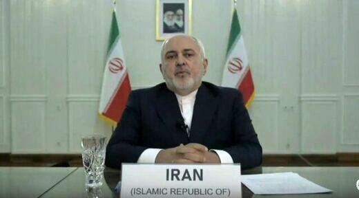 توئیت ظریف پس از سخنرانی مستحکم در شورای امنیت