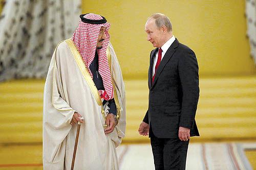 پنج وجه نفتی دیدار سلمان و پوتین