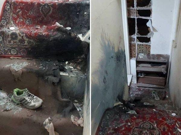 انفجار نارنجک دست ساز در منزل مسکونی تهران