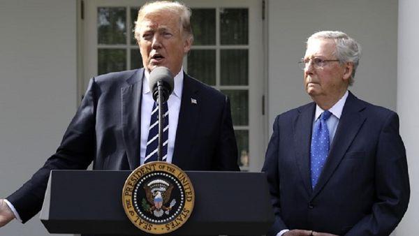 عصبانیت رهبر جمهوریخواهان از ترامپ