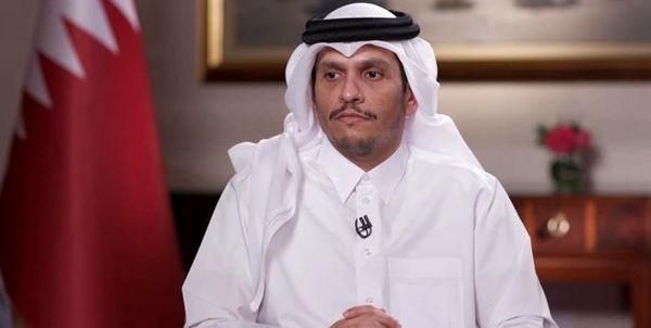 تشکر وزیر خارجه قطر از جمهوری اسلامی ایران