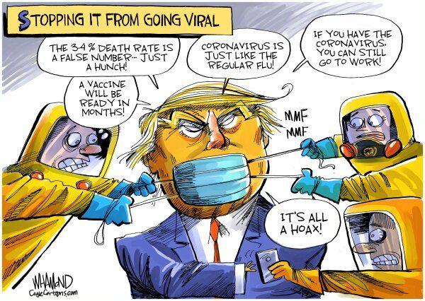 اینم تلاش برای مهار کردن ویروس اصلی!