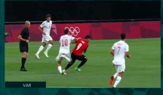 مصدومیت وحشتناک بازیکن رئال مادرید در المپیک+عکس