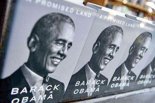 رکوردشکنی کتاب اوباما