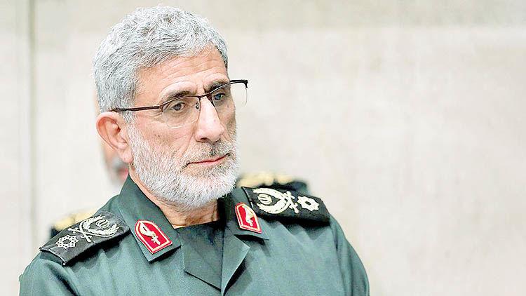 پیام حضور سردار قاآنی در سوریه