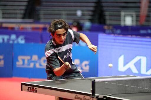 پینگ پنگ باز نوجوان ایرانی نایب قهرمان تور جهانی شد