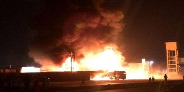 حمله به کاروان لجستیک آمریکا در بغداد و السماوه